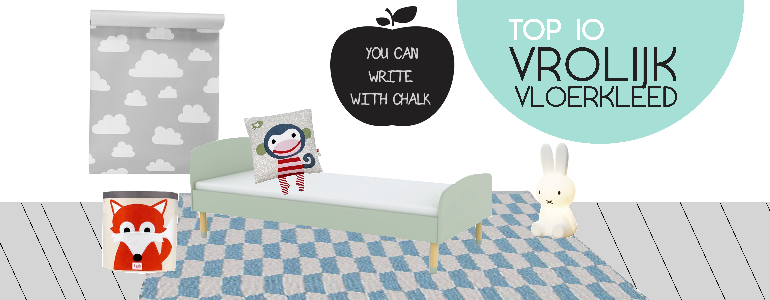 Kinderkamer vloerkleed  inspiratie voor kinderkamer