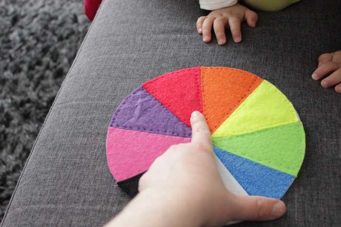 Kleuren leren | DIY (kinderactiviteit)