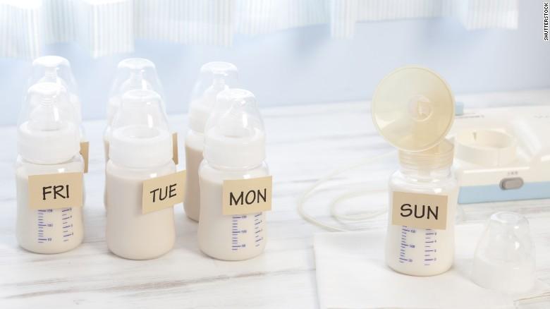 hoe borstvoeding bewaren