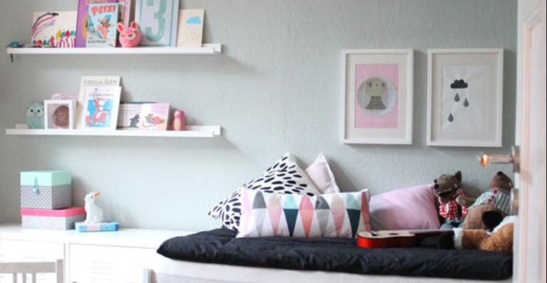 Kinderkamer inspiratie | Romantisch Scandinavisch