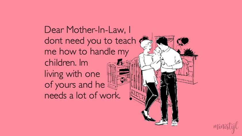 Welk type schoonmoeder heb jij?