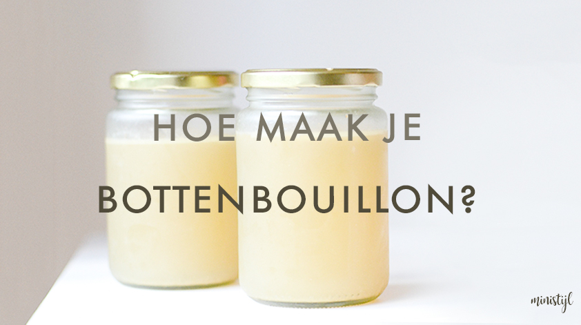 Bottenbouillon (bone broth) zelf maken | superfood recept