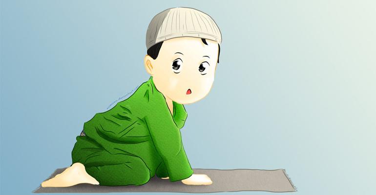 Wonderbaar Bidden Islam: hoe kinderen motiveren? EY-34